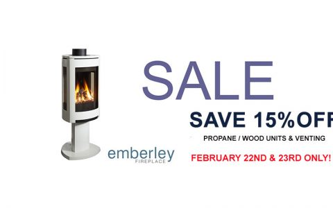 Emberley February Sale Fireplace Stoves Wood Propane Venting | Emberley Fireplace